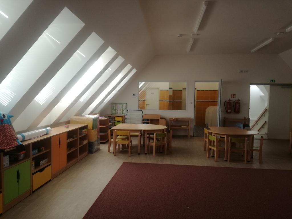 Rekonstrukce mateřské školky 2018